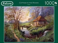 Cottage in the Woods - 1000 Pieces|Falcon Jigsaws